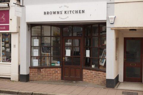 SOLD: Browns' Kitchen, Sidmouth, Devon