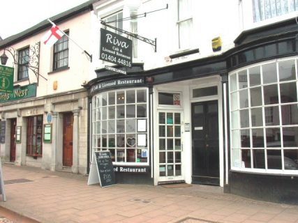 Riva Cafe and Restaurant, Honiton SOLD