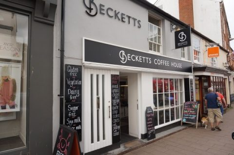 SOLD: Becketts Coffee House, Sidmouth, East Devon