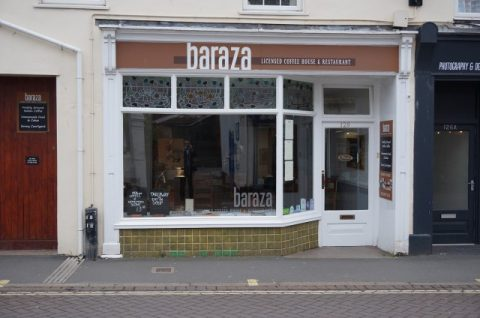 SOLD: Baraza (now trading as The Courtyard), High Street, Sidmouth, Devon