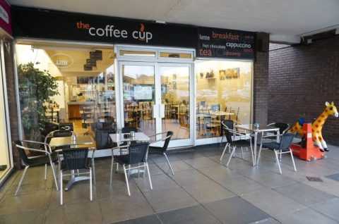 FOR SALE: The Coffee Cup, Exeter, Devon