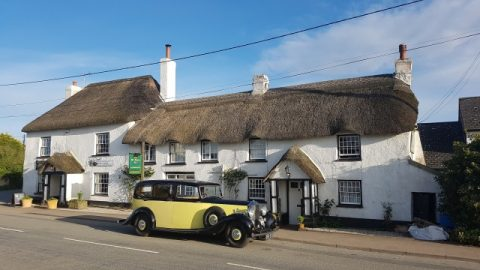 SOLD: The Old Thatch Inn, Cheriton Bishop, Devon