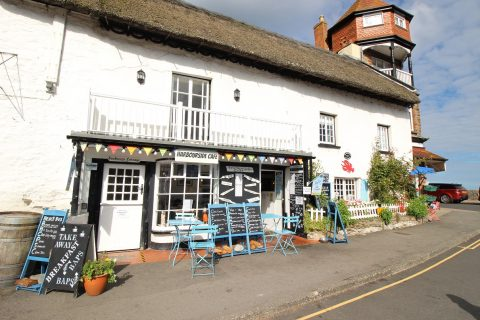NEW INSTRUCTION: The Harbourside Cafe, Lynton, North Devon